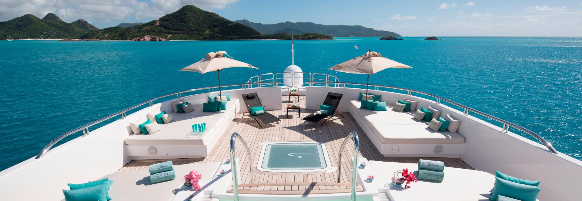 Noleggio yacht di lusso