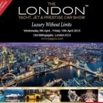 The London Yacht, Jet & Prestige Car Show