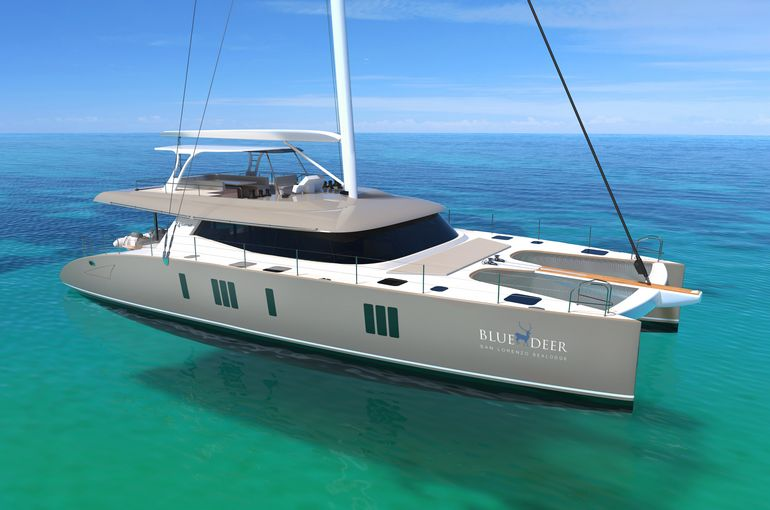 catamarano di lusso sunreef 75 39 charter am charter