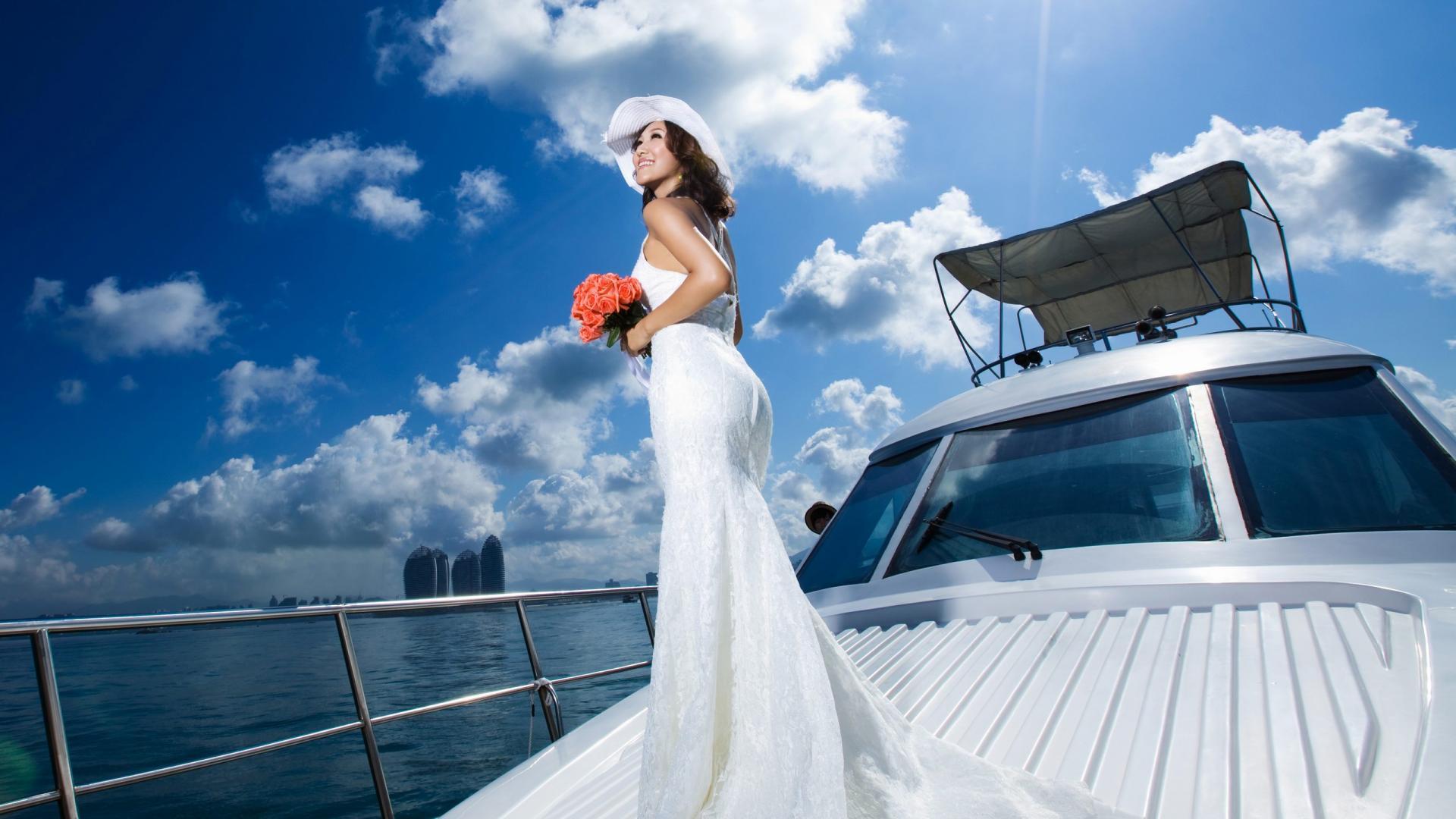 Matrimonio In Yacht : Matrimonio in barca gf regardsdefemmes