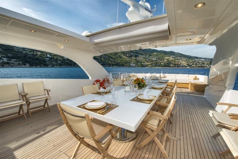 Yacht di lusso sanlorenzo 114 39 am charter for Cabine di lusso gigantesche