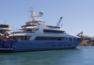 Luxury yacht IRAMA